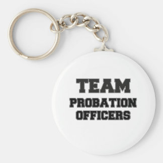 Team Probation Officers Keychain