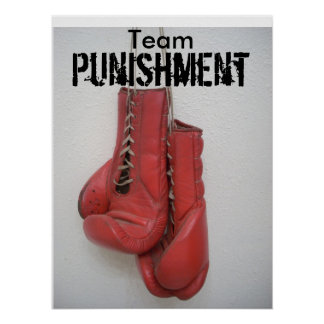 Team Punishment POSTER