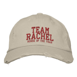 TEAM RACHEL - Horse of the Year Embroidered Hat