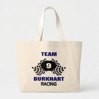 Team Racing Family Large Tote Bag