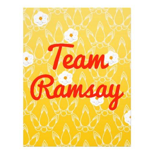 Team Ramsay Custom Flyer