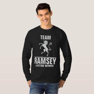 Team Ramsey lifetime member Tees