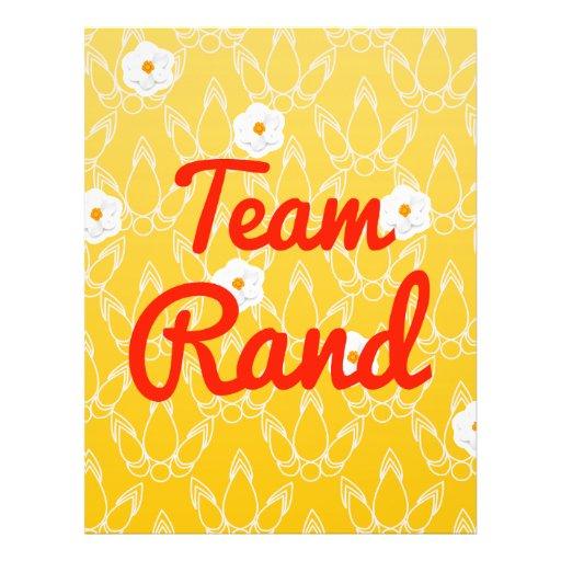Team Rand Custom Flyer