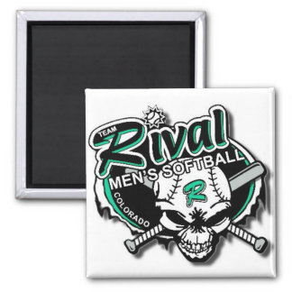 Team Rival Softball Magnet