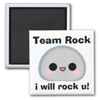 Team Rock Magnet