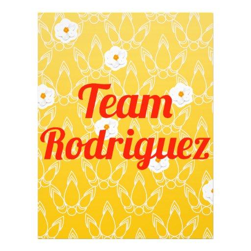 Team Rodriguez Flyers