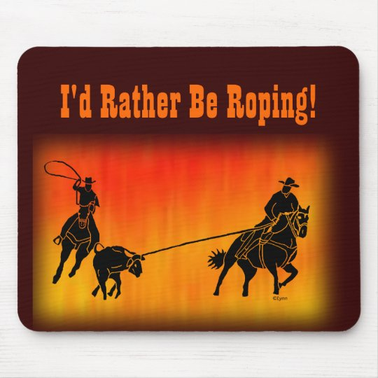 Team Ropers 202 Mouse Pad