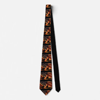 Team Roping All American Father's Day Tie