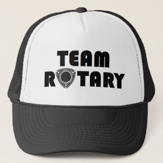 Team Rotary trucker hat