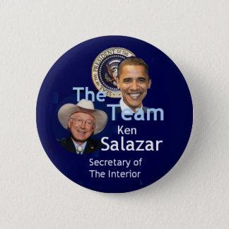Team Salazar Button