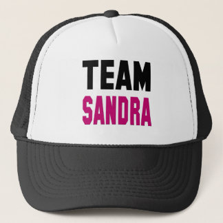 Team Sandra T-shirts and Swag Trucker Hat