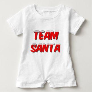Team Santa Baby Romper