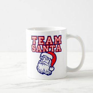 TEAM SANTA COFFEE MUG