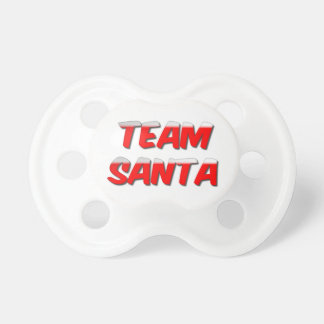 Team Santa Pacifier