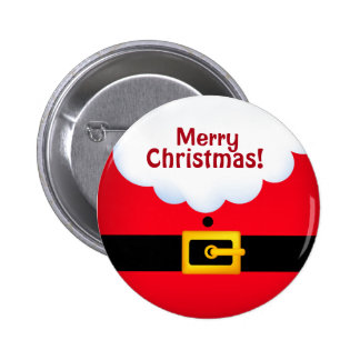 Team Santa Standard, 2¼ Inch Round Button