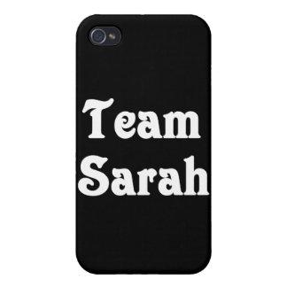 Team Sarah iPhone 4 Cases