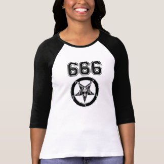 Team Satan Raglan T-Shirt