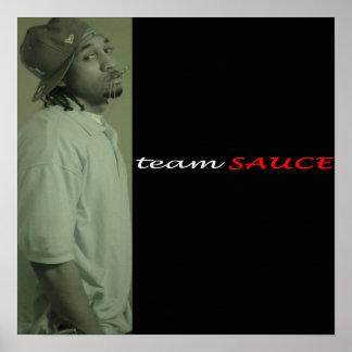 Team Sauce poster