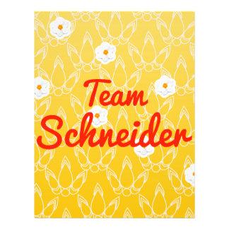 Team Schneider Flyer