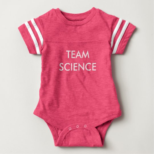 Team Science Baby Bodysuit