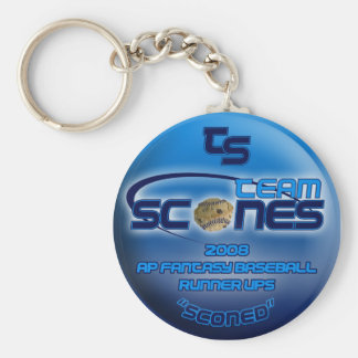 Team Scones on your keychain today not tomorrow
