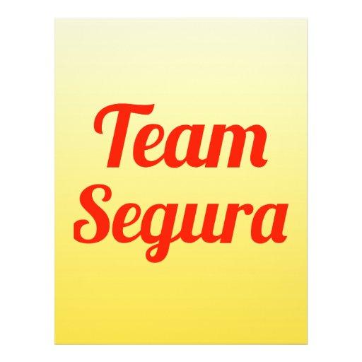 Team Segura Custom Flyer