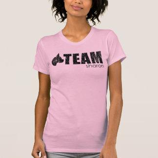 Team Sharon pink tank