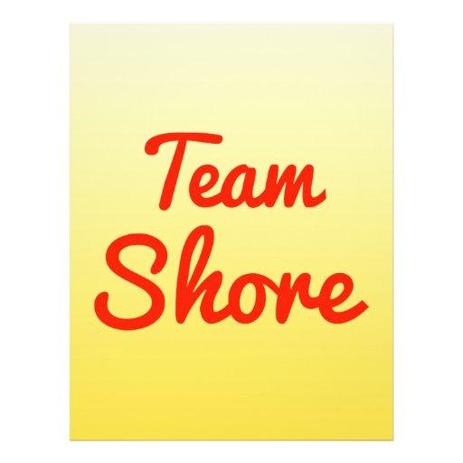 Team Shore Full Color Flyer