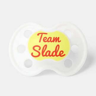 Team Slade Baby Pacifier