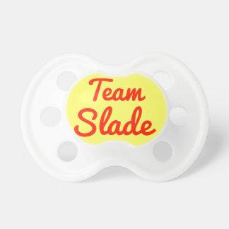Team Slade Pacifiers