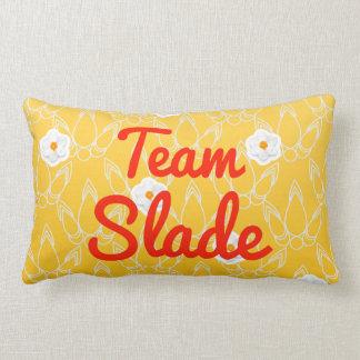 Team Slade Throw Pillows