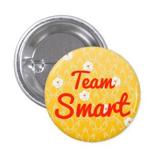 Team Smart 1 Inch Round Button