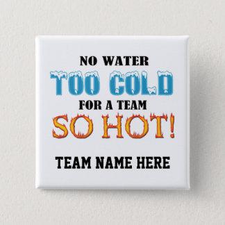 Team So Hot 2 Inch Square Button
