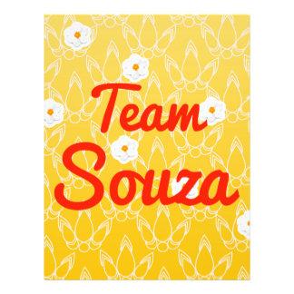 Team Souza Full Color Flyer