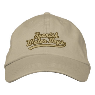 Team Spanish Water Dog Embroidered Hat