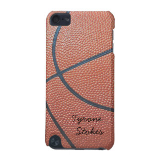Team Spirit_Basketball texture_Autograph Style iPod Touch 5G Covers