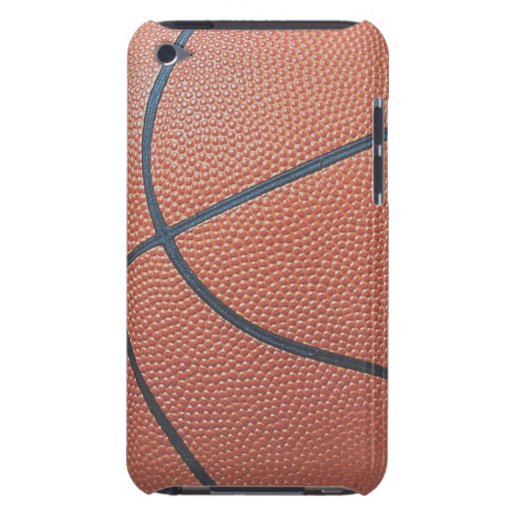 Team Spirit_Basketball texture look_Hoops Lovers iPod Touch Cases