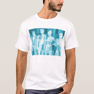Team Spirit On a Mission in Business Concept T-Shirt