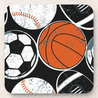 Team sport balls coaster