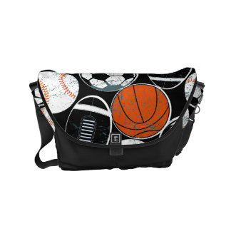 Team sport balls courier bag