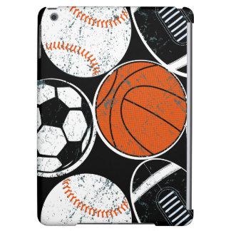 Team sport balls iPad air covers