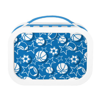 Team sports boys lunch box