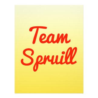 Team Spruill Custom Flyer