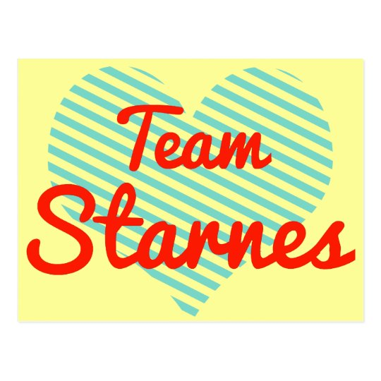 Team Starnes Postcard