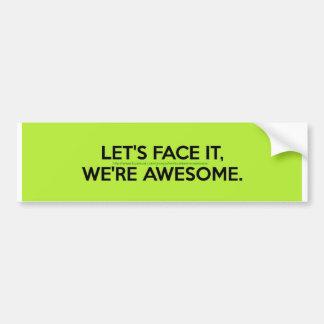 Team Sticker! Bumper Sticker