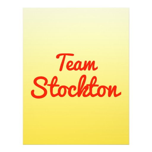 Team Stockton Flyer
