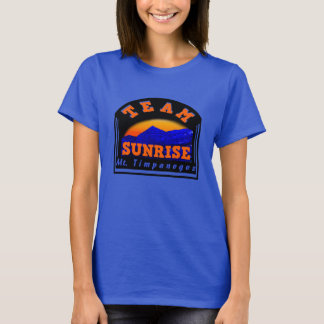Team Sunrise Mt Timpanogos T-Shirt