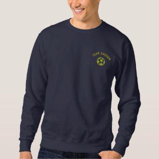 TEAM Sweden Swedish Sports Embroidered Sweatshirt
