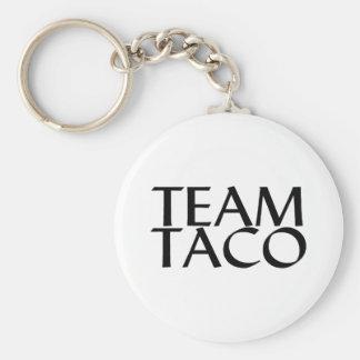 Team Taco Basic Round Button Keychain