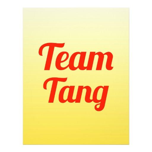 Team Tang Flyer